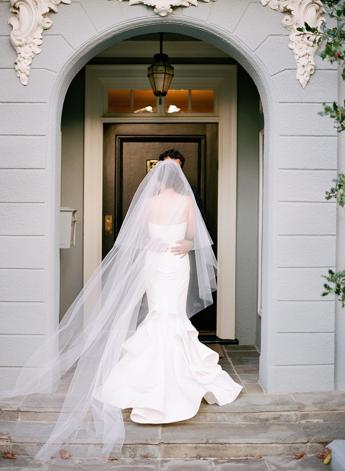 jose villa fine art weddings oscar de la renta bride