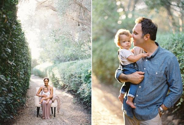 Tamera Mowry And Adam Housley Family Portrait - Jose Villa ...